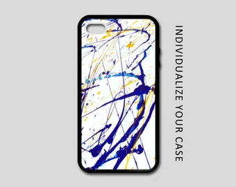 Paint iPhone Case, Artistic iPhone Case, Paint Samsung Galaxy Case, iPhone 6, iPhone 5, iPhone 4, Galaxy S4, Galaxy S5, Galaxy S6 Protective