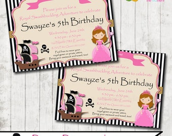 Pirate Princess Invitation