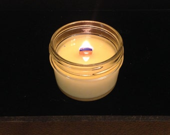 Small Wooden Wick Soy Candle - 3oz