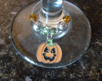 Pumpkin Wine Charms