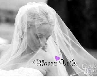 Sheer 2 Tier Wedding Veil