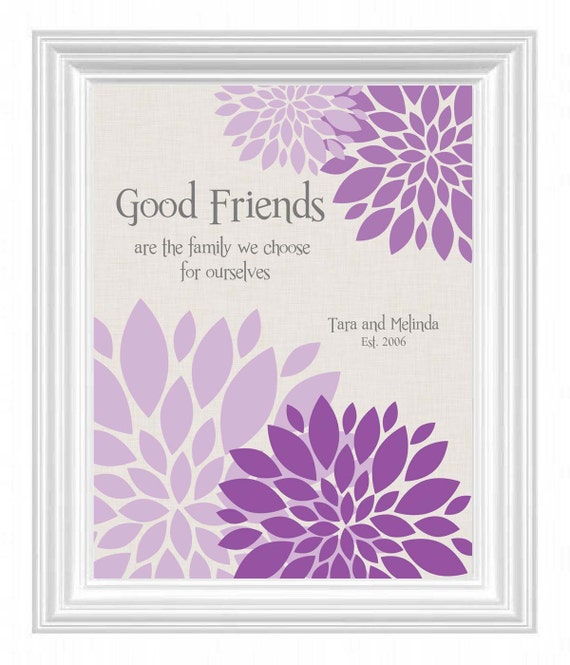 Best Friend Gift - Personalized Gift for a Special Friend - BFF ...