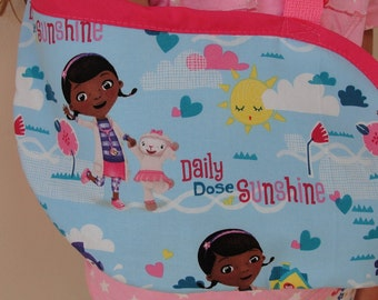 Doc McStuffins arm sling for a broken arm, wrist or collar bone 2-6 years