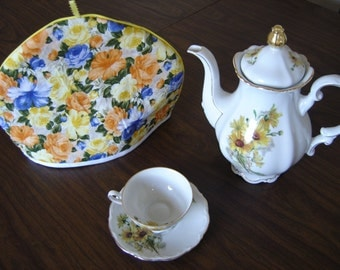 Flowered Tea Cozy
