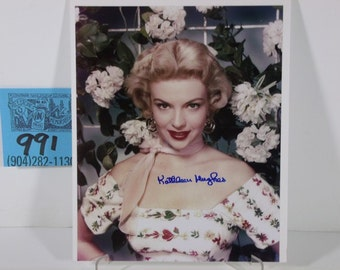 It Came From Outer Space!-Kathleen Hughes Color Photo and Autograph