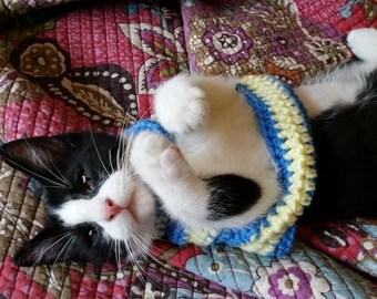 Crochet Kitten Sweater
