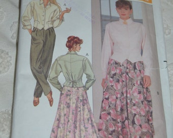 Butterick 4385 Misses Top  Skirt and Pants Sewing Pattern - UNCUT - Sizes 18 20 22