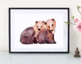 Artprint, little bear""