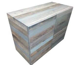 Reclaimed Wood Dresser, FREE SHIPPING, Rustic, Modern, Plank