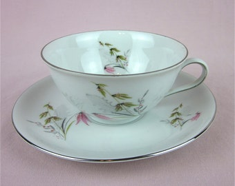 Vintage Tea Cup, Bavaria Germany Fine China, Royal Duchess, Mountain Bell