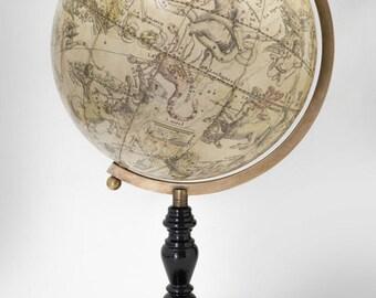 Handmade Celestial Globe, 17th Century Facsimile