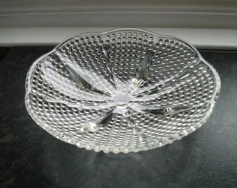 Pretty little Vintage pressed glass dish
