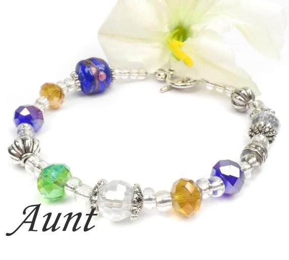 Aunt Bracelet Gift Ideas For Aunt Christmas Present C101