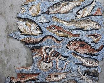 Reproduction mosaic Aquileia