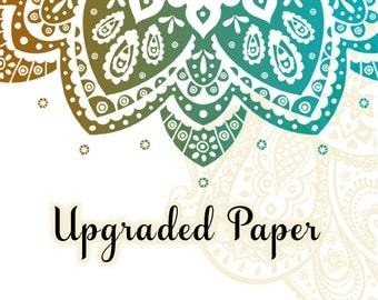 UPGRADED PAPER OPTION