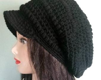 Custom Brimmed Slouchy Hat