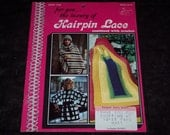 Hairpin Lace combined with crochet Sweaters,Jackets & afghans,how to booklet
