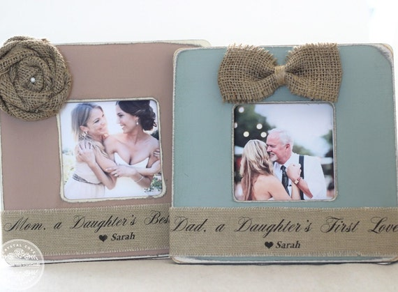 Thank You Gifts for Parents Wedding Gift Personalized Picture Frame ...