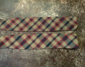 VINTAGE self tie bow ties.  Please see photos for style, pattern, fabric, and maker.