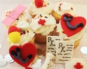 Fondant Cake Topper Nurse Cake Topper Kit   14 piece set band aid etc