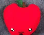 Felt Apple Food Plushie / Plush Toy