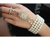 Great Gatsby bracelet 1920s flapper wedding bridal accessories vintage