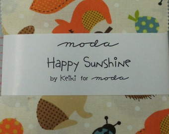 Happy Sunshine Charm Pack by Keiki for Moda