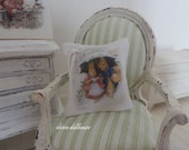 Beatrix Potter Cushion, Dollhouse Miniature,1:12 Scale Dolls House