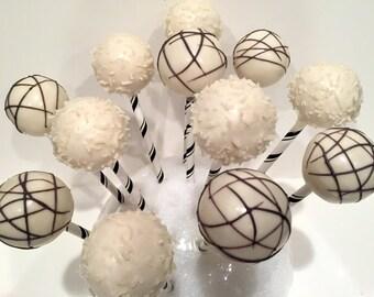 Coconut Flake Cake Pops