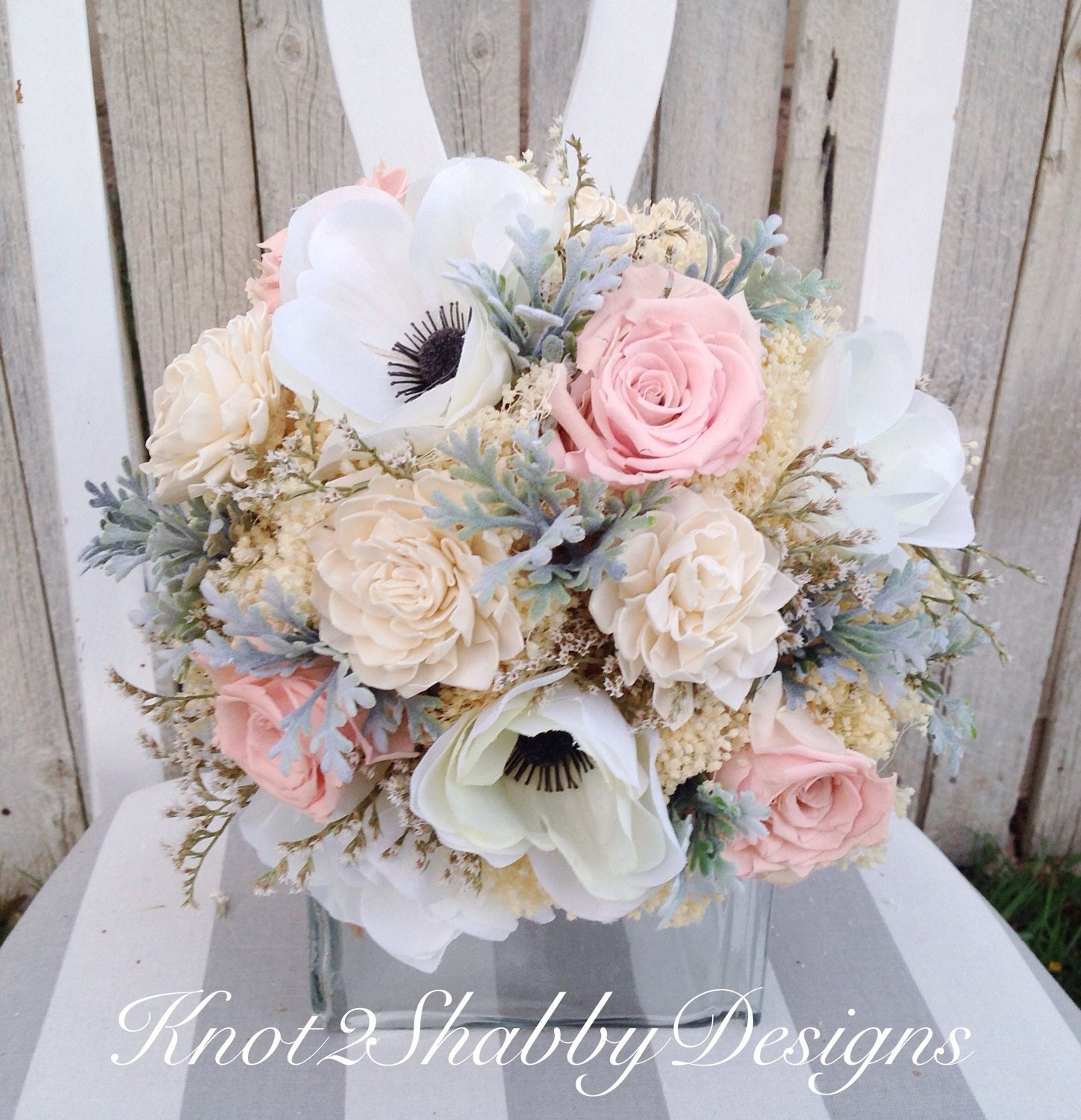 dried flower bouquet dried bridal bouquet by