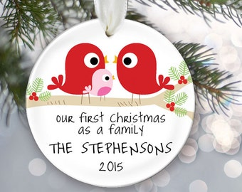 Our first christmas ornament baby  Etsy