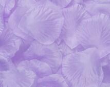 1000 pcs Lavender Silk Rose Petals Lilac Flower Petals For Wedding Cake Table Centerpiece Decor