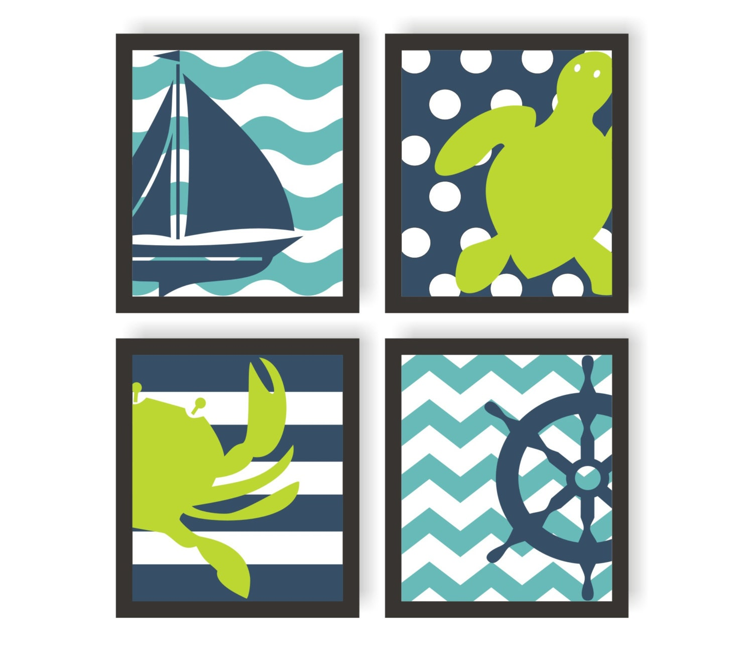 Nautical Nursery Art Sea Nursery Print Beach Decor Nautical