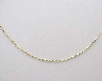 Solid 14k Yellow Gold Chain