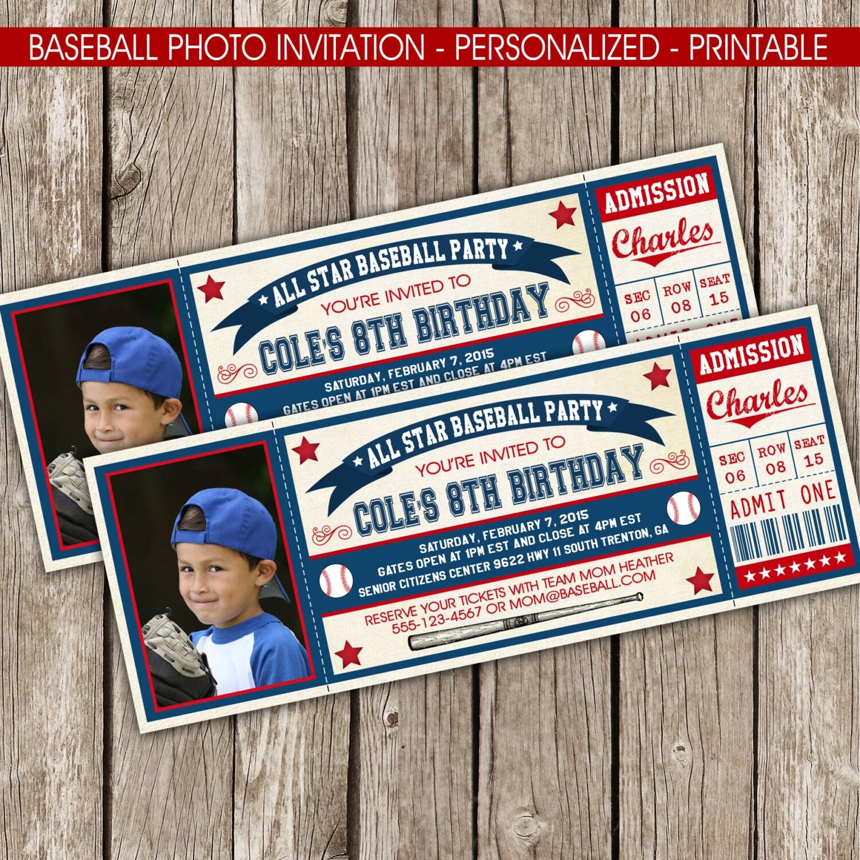 Vintage Baseball Ticket 46