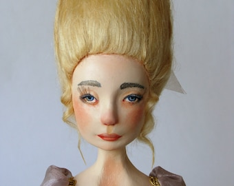 "Art doll OOAK, handmade doll  ""Lilly"""
