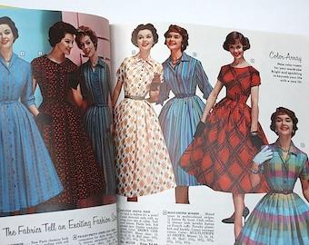 Vintage Mail Order Catalog - Grace Holmes Catalog - 1950s Fashion - Mid Century Furniture - Vintage Toys - Vintage Electronics - Housewares