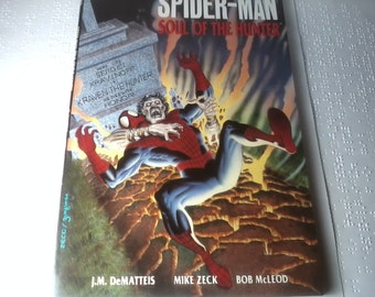 The Amazing Spider- Man Soul Of The Hunter Graphic Comic