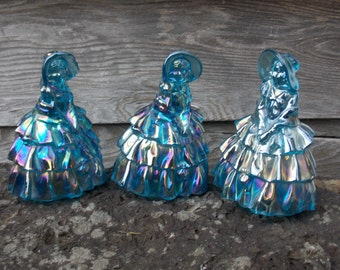 Blue Glass Southern Belles