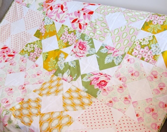 Heather Bailey fabric quilt