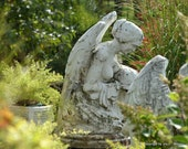 Angel Tending the Garden- You are not alone- fine art photography