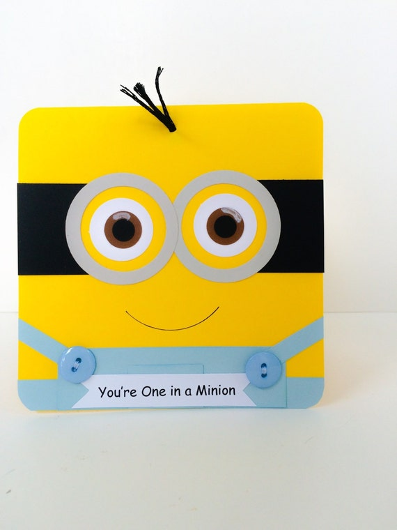 Handmade Greeting Card Minion 2 Happy Birthday Ebay 28 Images