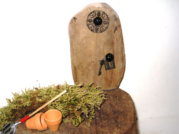 Miniature Door Fairy Door Fairy Garden Door By BlackCrowCurios