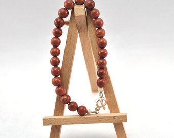Gemstone Bracelet - Goldstone