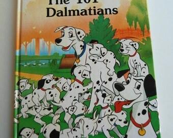 Vintage Walt Disney The 101 Dalmatians Book