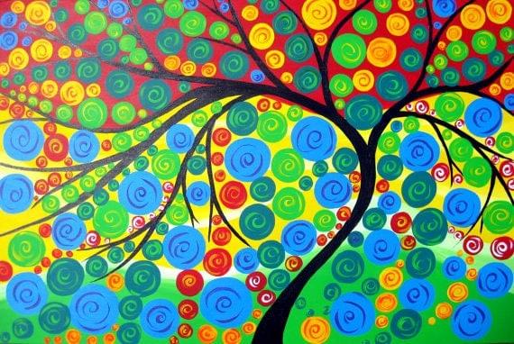 fait main art et collections peinture sud australie de art peinture peintures de arbres arbre. Black Bedroom Furniture Sets. Home Design Ideas