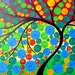 On sale , tree of life painting from South Australia, art from Adelaide, huge tree of life painting, huge paintings, on canvas, for house,