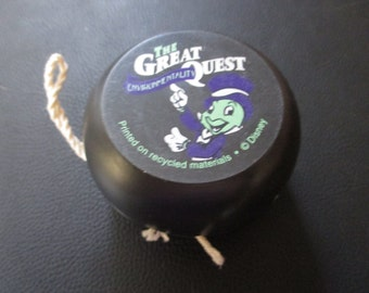 Vintage Environmentality Yo Yo/yoyo called The Quest with Jiminy Cricket - Unusual find!