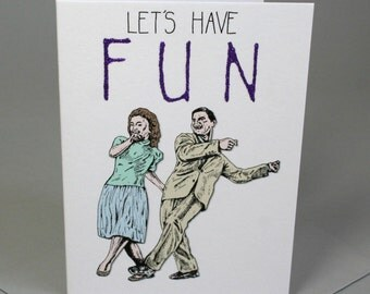 Let's have Fun Card
