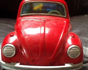 1960's Battery Operated Volkswagen Bug